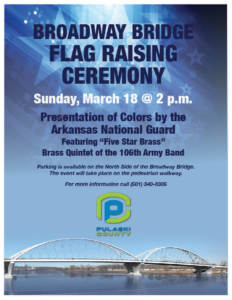 Broadway Bridge Flag Raising Ceremony @ Broadway Bridge