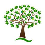 Ecology environmental tree vector design